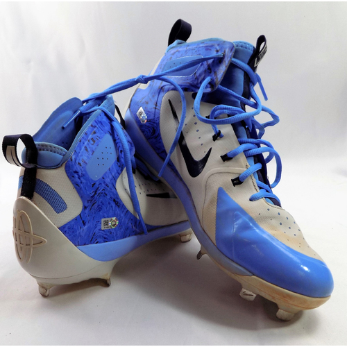 Photo of Robinson Chirinos Game-Used 2018 Father's Day Cleats