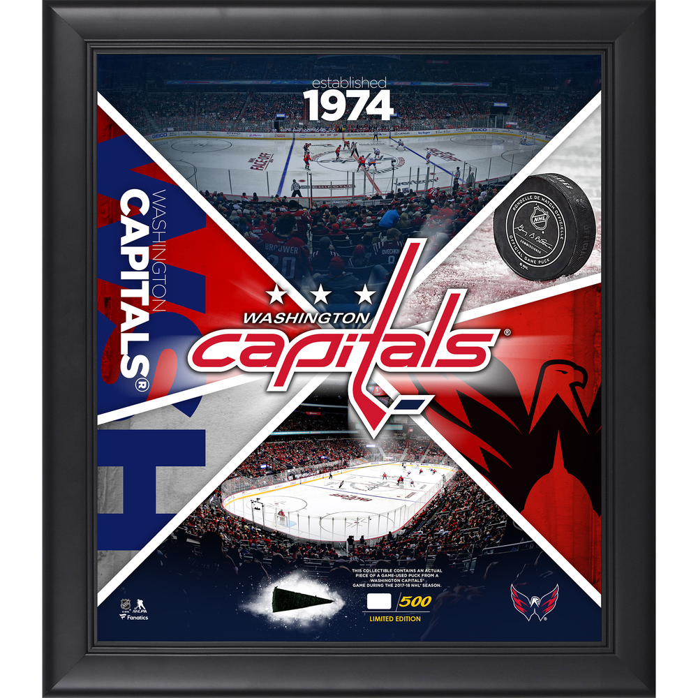 Washington Capitals Framed 15