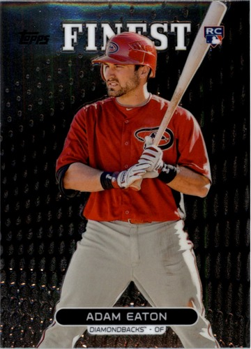 Photo of 2013 Finest #94 Adam Eaton Rookie Card