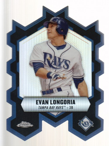Photo of 2013 Topps Chrome Chrome Connections Die Cuts #CCEL Evan Longoria