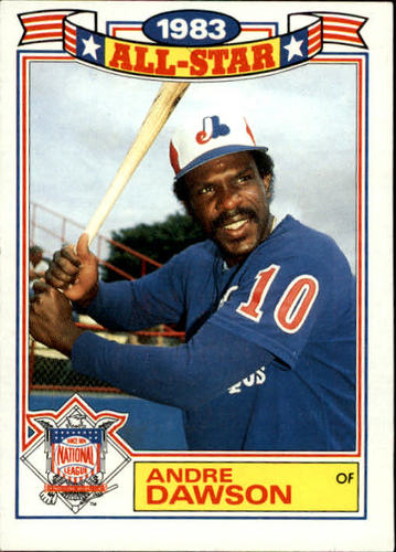 Photo of 1984 Topps Glossy All-Stars #18 Andre Dawson