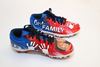 My Cause My Cleats -  Patriots Donta Hightower signed custom cleats - supporting  One Family Inc.