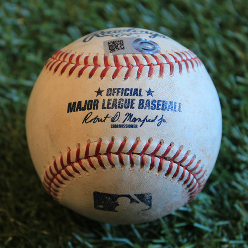 Photo of Game-Used Baseball: Robbie Grossman 546th Career Hit (8/29/19 - OAK @ KC)
