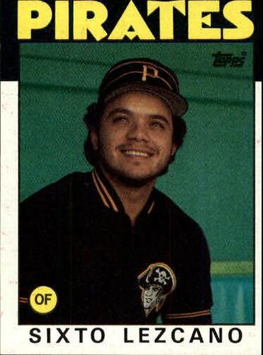 Photo of 1986 Topps #278 Sixto Lezcano