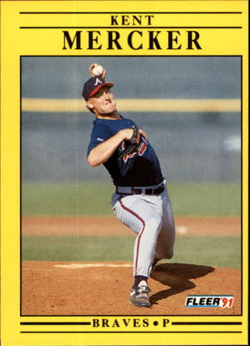 Photo of 1991 Fleer Update #74 Kent Mercker