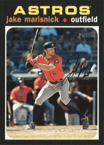 Photo of 2020 Topps Heritage #337 Jake Marisnick