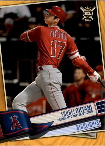 Photo of 2019 Topps Big League Gold #396 Shohei Ohtani