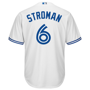 Toronto Blue Jays Cool Base Replica Marcus Stroman Home Jersey by Majestic