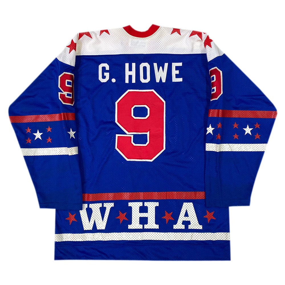 Gordie Howe Game-Worn 1977 WHA All-Star Jersey
