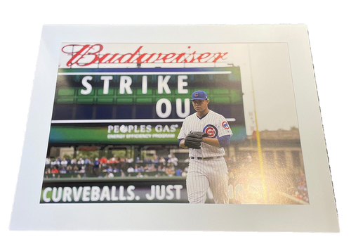 Photo of Clubhouse Photo -- Strike Out -- Size 30 X 40 in.