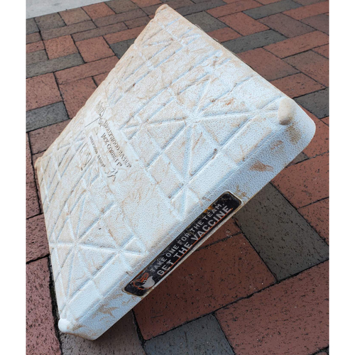 Photo of 2nd Base: Game Used (Innings 1-9 - 9/23/21 vs. Rangers)