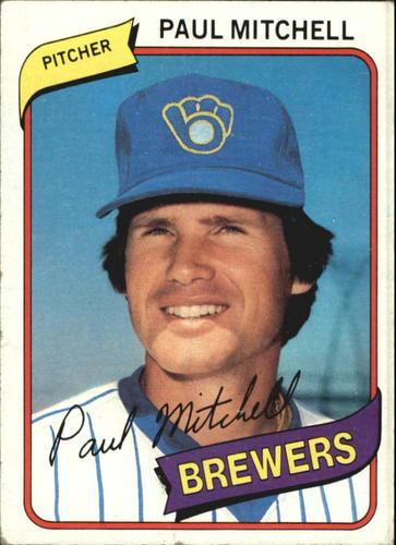 Photo of 1980 Topps #131 Paul Mitchell