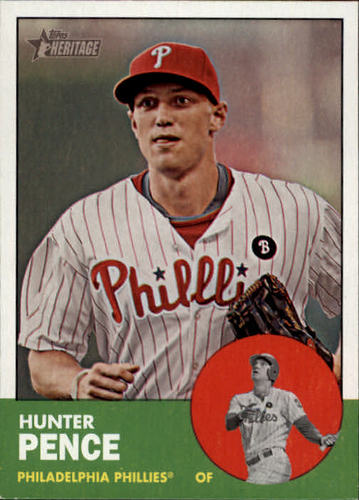 Photo of 2012 Topps Heritage #268 Hunter Pence