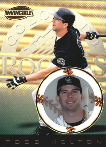 Photo of 1999 Pacific Invincible #51 Todd Helton
