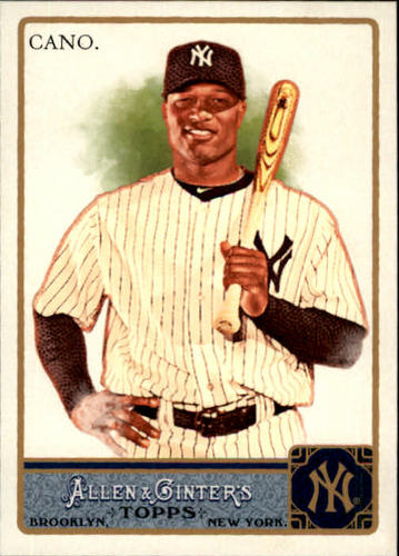 Photo of 2011 Topps Allen and Ginter #130 Robinson Cano