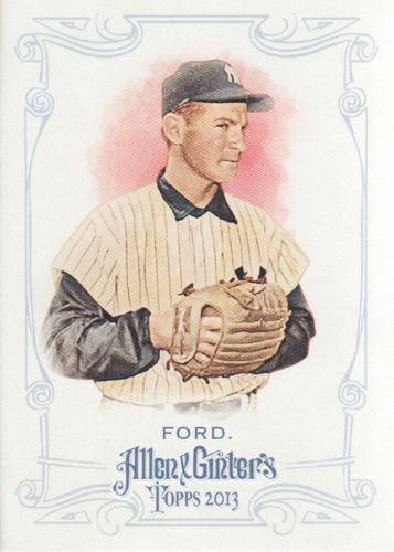 Photo of 2013 Topps Allen and Ginter #56 Whitey Ford