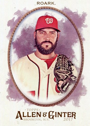 Photo of 2017 Topps Allen and Ginter #43 Tanner Roark
