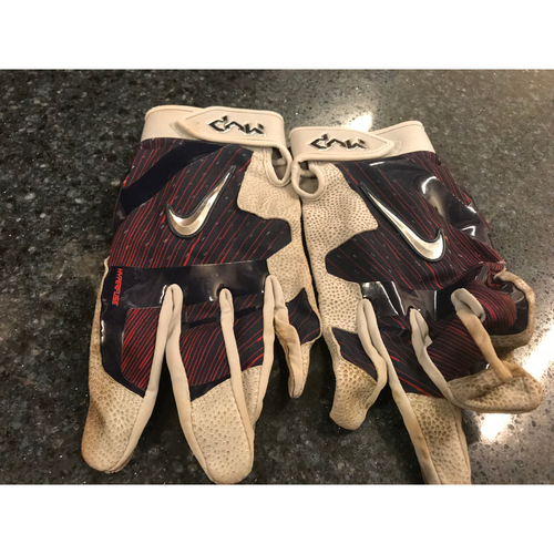 2017 Team-Issued Batting Gloves - Joe Mauer