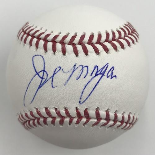 Photo of Joe Morgan Autographed Baseball