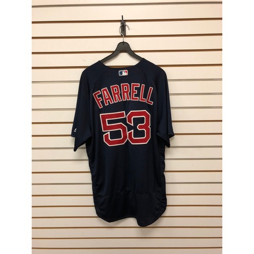 Photo of John Farrell Team-Issued 2017 Road Alternate Jersey