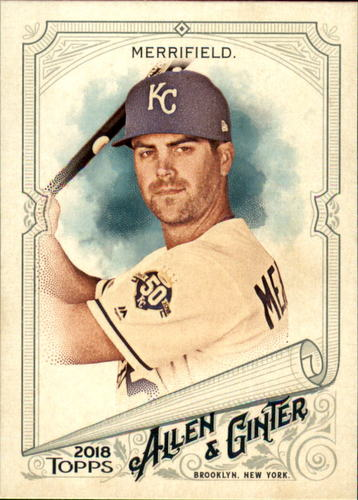 Photo of 2018 Topps Allen and Ginter #301 Whit Merrifield SP