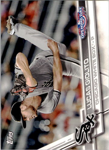 Photo of 2017 Topps Opening Day #22 Lucas Giolito