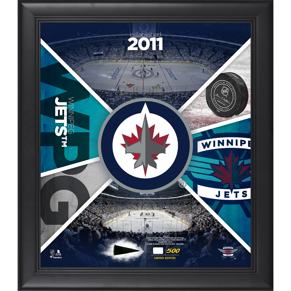 Winnipeg Jets Framed 15