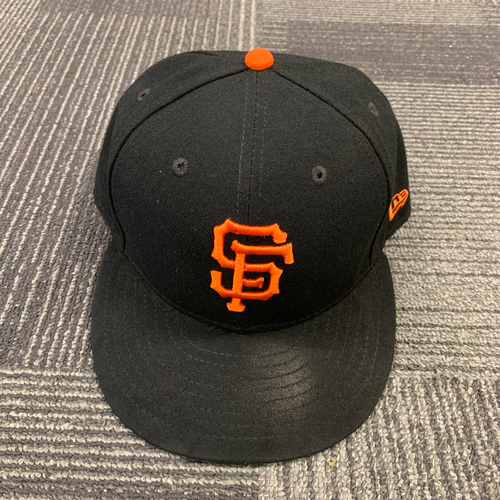 Photo of 2019 Team Issued Regular Season Cap #8 - Size 7 5/8