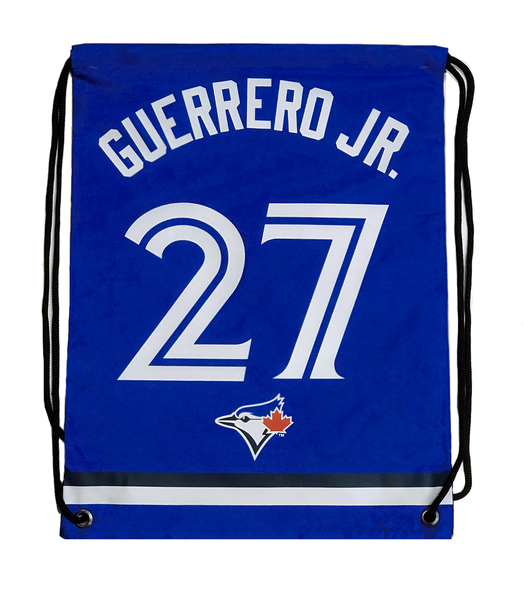 Toronto Blue Jays Guerrero Jr. Drawstring Bag by Forever Collectibles