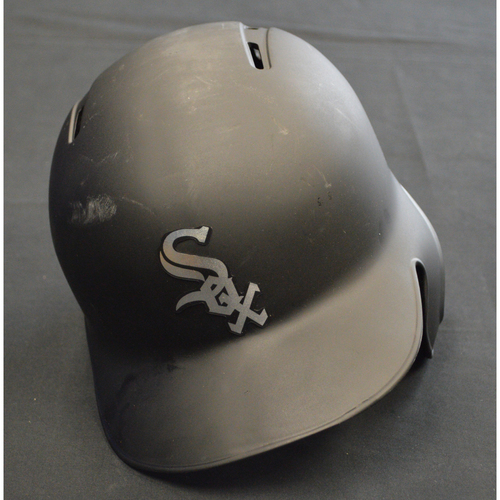 "Photo of Welington ""GUELO"" Castillo Chicago White Sox Game-Used 2019 Players' Weekend Helmet"