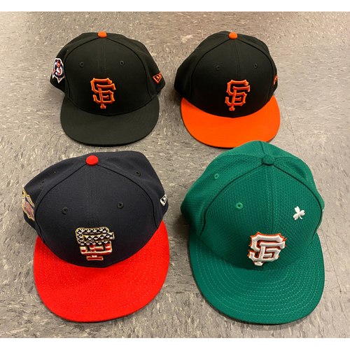 Photo of 2019 Holiday Sale - 2019 Game Used Cap Set - Size 7 1/8