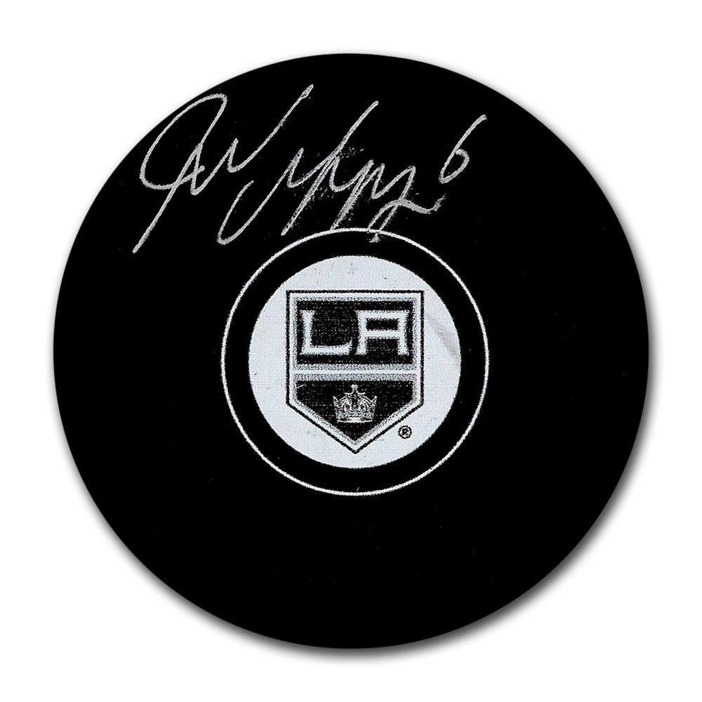 Jake Muzzin Autographed Los Angeles Kings Puck