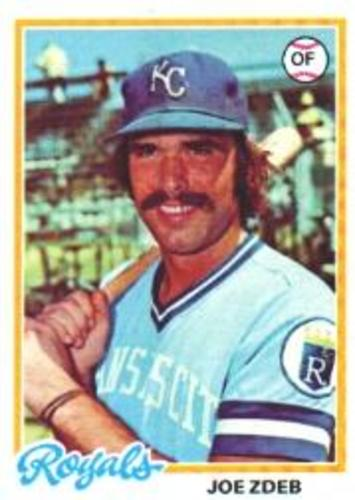 Photo of 1978 Topps #408 Joe Zdeb RC