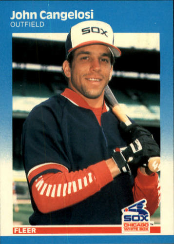 Photo of 1987 Fleer #489 John Cangelosi