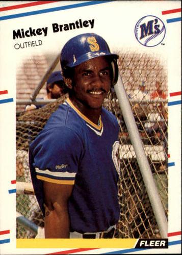 Photo of 1988 Fleer #371 Mickey Brantley