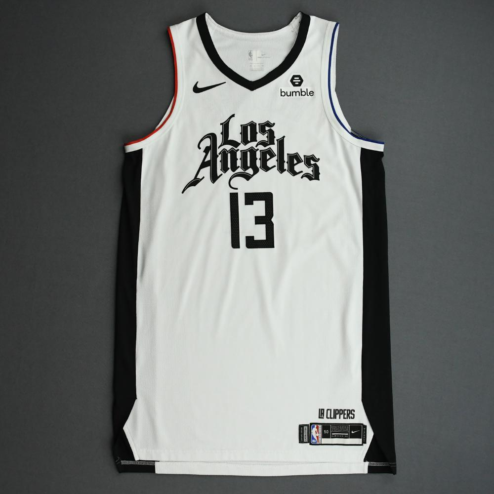 Paul George - Los Angeles Clippers - Game-Worn City Edition Jersey - 2019-20 Season