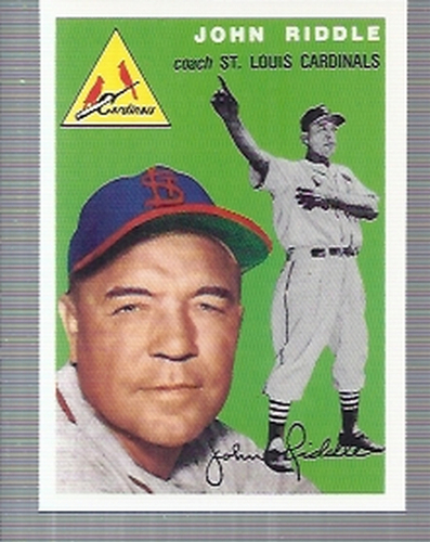 Photo of 1994 Topps Archives '54 #147 John Riddle CO