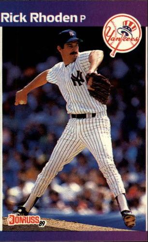 Photo of 1989 Donruss #429 Rick Rhoden