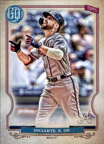 Photo of 2020 Topps Gypsy Queen #118 Ender Inciarte