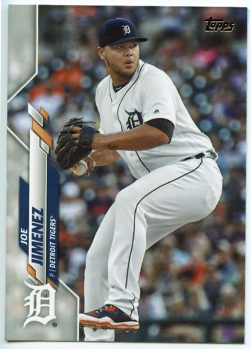 Photo of 2020 Topps #452 Joe Jimenez