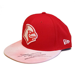 Photo of Jake Woodford Autographed Team-Issued Memphis Redbirds 2019 Mother's Day Hat
