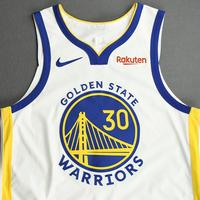 Stephen Curry - Golden State Warriors - Game-Worn Association Edition Jersey - Christmas Day' 20