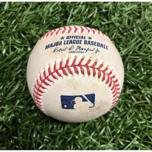 Photo of Game Used Baseball: Rafael Devers foul ball off Josh Fleming (Rookie Season) - September 10, 2020 v BOS