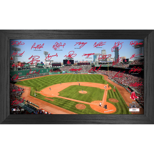 Photo of Boston Red Sox 2021 Signature Field Photo Frame