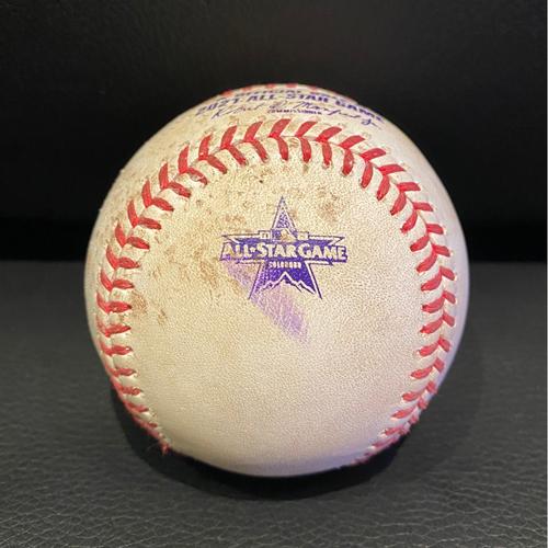 Photo of 2021 MLB All-Star Game - Pitcher: Trevor Rodgers, Batter: Vladimir Guerrero Jr. - RBI Groundout - Top 5
