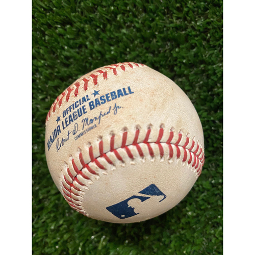Photo of Drew Smyly Hit Single Ball off Rich Hill - July 18, 2021 - Also pitched to Joc Pederson