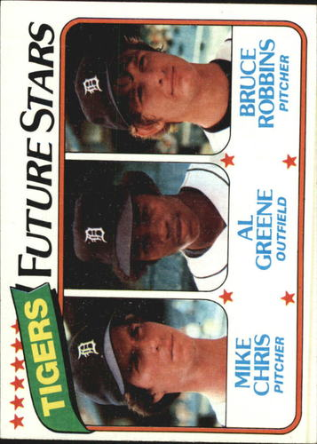 Photo of 1980 Topps #666 Mike Chris RC/Al Greene RC/Bruce Robbins RC
