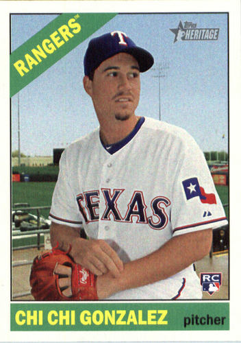 Photo of 2015 Topps Heritage #507 Chi Chi Gonzalez RC