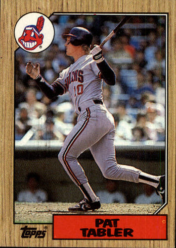 Photo of 1987 Topps #575 Pat Tabler
