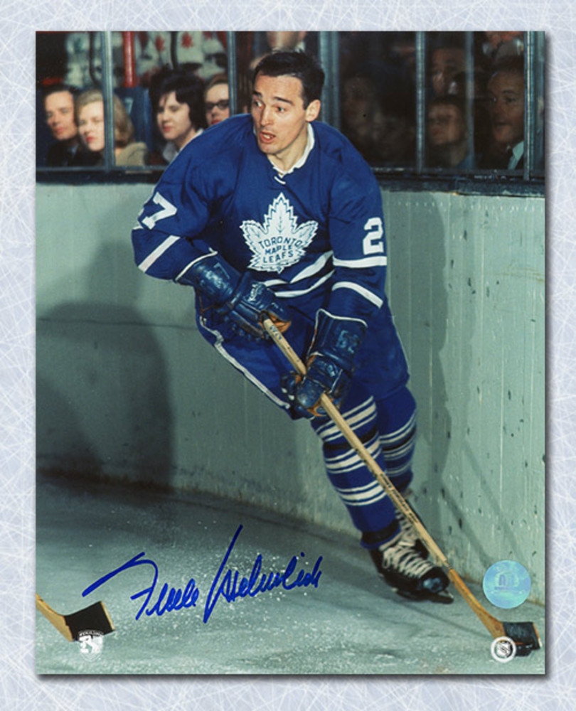 Frank Mahovlich Toronto Maple Leafs Autographed 8x10 Photo
